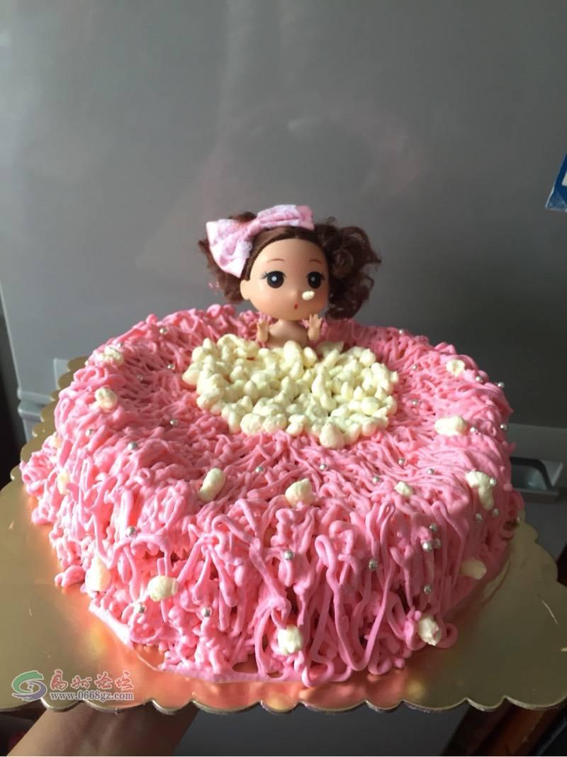 洗澡澡芭比娃娃蛋糕图片