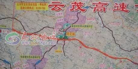 此条高速公路贯通后,高州、信宜到陆川、北海、钦州、南宁、云南乃